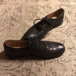 Frye Anna Oxford Leather Shoes Size 10